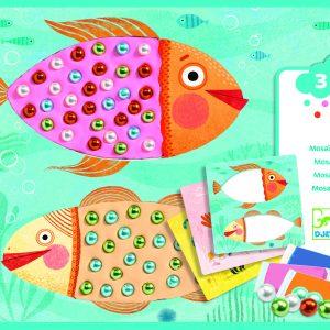 Djeco 8930 Bastelset Perlenmosaike