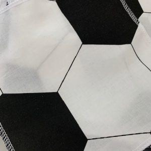 Mund-Nasen-Bedeckung für Kinder Fußball
