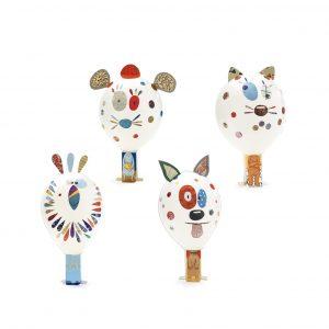 Djeco 7910 DIY Bastelset Ballons dekorieren – Tiere