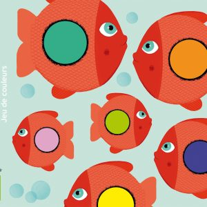 Djeco 5060 Kartenspiel Little Puzzle – Farbassoziation