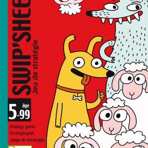 Djeco 5045 Kartenspiel Swip'Sheep – Taktik