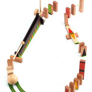 Konstruktionsspiel Zig & Go – grün- 27 pcs