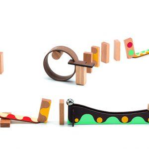 Konstruktionsspiel Zig & Go – gelb – 25 pcs