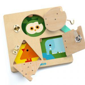 Djeco 6213 Geschicklichkeitsspiel Lock Basic