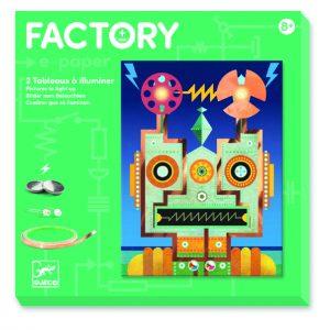 Djeco 9313 E-factory Cyborgs – E-paper