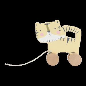 Little Dutch LD4451 Nachziehtier Tiger