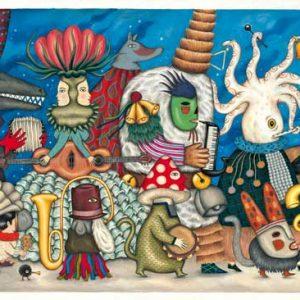 Djeco 7626 Puzzle – Galerie Fantasy Orchestra 500 Teile