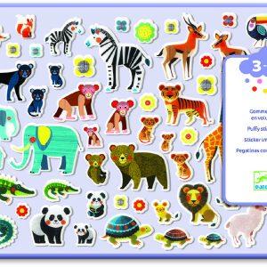 Djeco 9081 Sticker Mamas und ihre Jungen