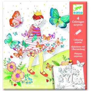 Djeco 9629 Malset Lady Butterfly