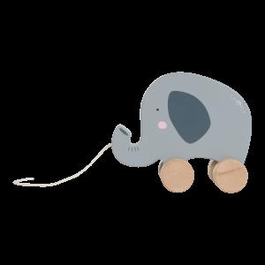 Little Dutch LD4450 Nachziehtier Elefant