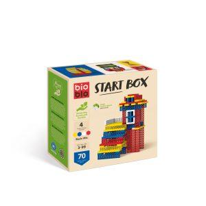 """Bioblo Bausteine Start Box """"BASIC-MIX"""" mit 70 Bausteinen"""