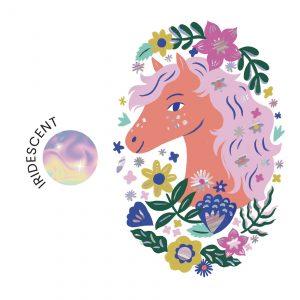 Djeco 9608 Tattoos Poetisches Pferd