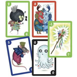 Djeco 5098 Kartenspiel Spooky Boo
