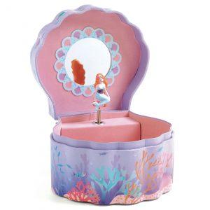 Djeco 6083 Spieluhr Verzauberte Meerjungfrau