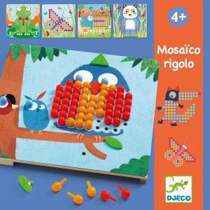 Djeco 8136 Steckspiel Mosaico rigolo