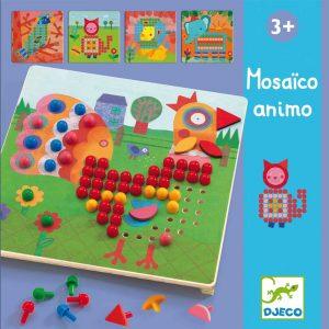 Djeco 8137 Steckspiel Mosaico animo