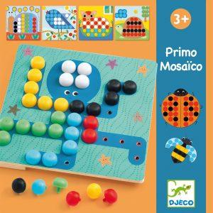 Djeco 8140 Steckspiel Primo Mosaico
