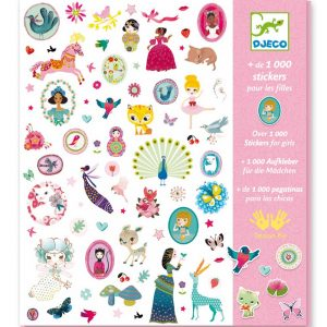 Djeco 8951 Sticker-Set 1000 Sticker sweet