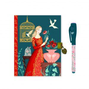 Djeco 3615 Tagebuch und Notizbuch Lisa mit magischem Filzstift