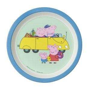 Peppa Pig (Peppa Wutz) Baby Essteller 18 cm