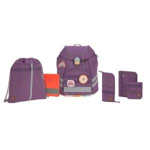 LÄSSIG Schulranzen Set 7-teilig, Unique Purple
