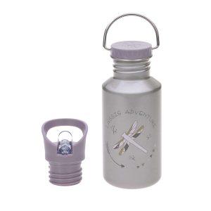 LÄSSIG Kinder Trinkflasche Edelstahl – Bottle, Adventure Libelle