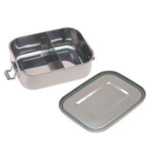 LÄSSIG Brotdose Kinder – Edelstahl Lunchbox, Yummy