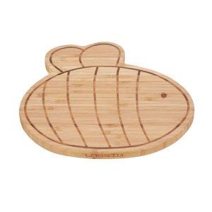 LÄSSIG Frühstücksbrettchen Bambusholz – Board, Garden Explorer Biene