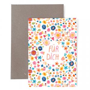 Frau Ottilie Grußkarte Für Dich
