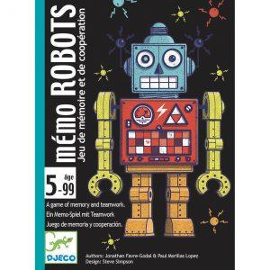 Djeco 5097 Kartenspiel Robots