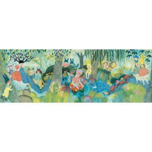 Djeco 7618 Puzzle Galerie River Party – 350 pcs – FSC MIX
