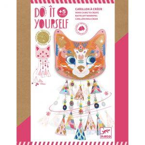 Djeco 7955 DIY Bastelset Glockenspiel Kitty