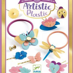 Djeco 9498 Artistic Plastic – Frisurzubehör