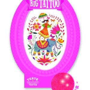 Djeco 9602 Tattoos Indische Rose