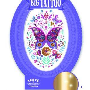 Djeco 9604 Tattoos Schmetterling