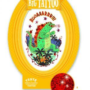 Djeco 9606 Tattoos Godzilla