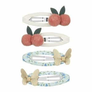 MIMI & LULA Haarspangen Cherries and Butterflies Clic Clacs