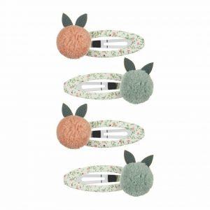 MIMI & LULA Haarspangen Fruit Pom Pom Clic Clacs
