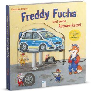 Buch Freddy Fuchs und seine Autowerkstatt