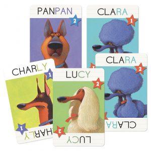 Djeco 5099 Kartenspiel Top Dogs