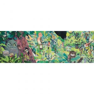 Djeco 7644 Galerie Puzzle Owls and birds 1000 Teile