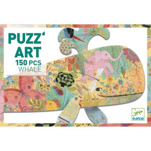 Djeco 7658 Puzzle Puzzart Wal 150 Teile