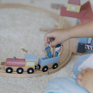 Little Dutch Holzeisenbahn Erweiterung – Bahnhof